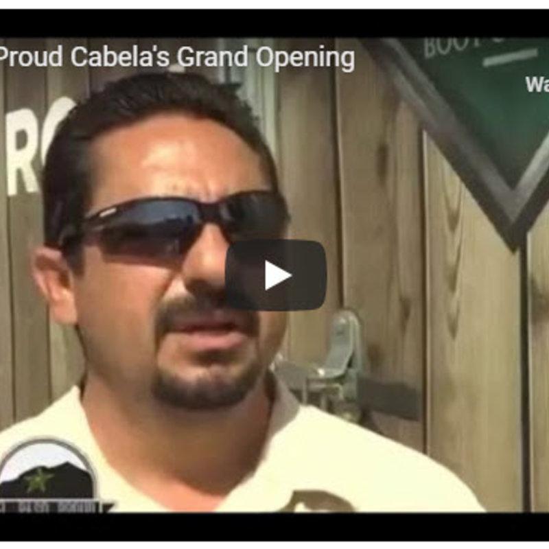 Cabela's opens in west El Paso