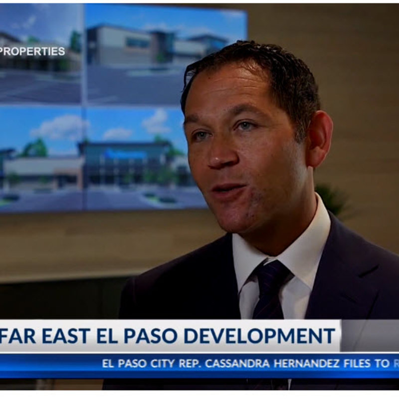 Local shopping center developer brings projects to Far East El Paso