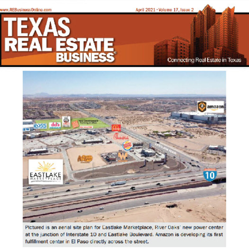 FOOD & BEVERAGE USERS SPEARHEAD EL PASO RETAIL MARKET'S RECOVERY, GROWTH