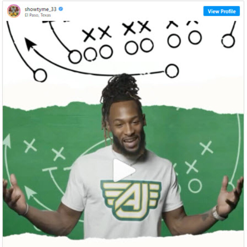 NFL star Aaron Jones announces plans for sports grill in El Paso