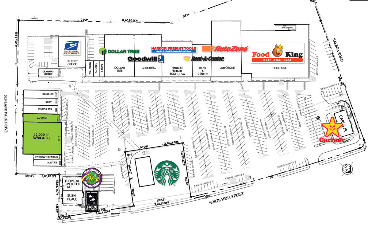 Coronado Shopping Center El Paso Texas Retail Space