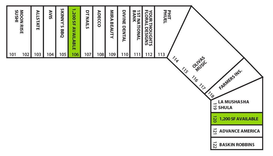 Desert Passage Site Plan