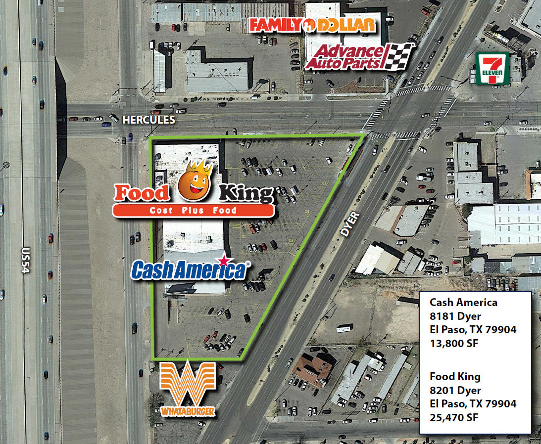 Dyer Triangle El Paso Texas Retail Space