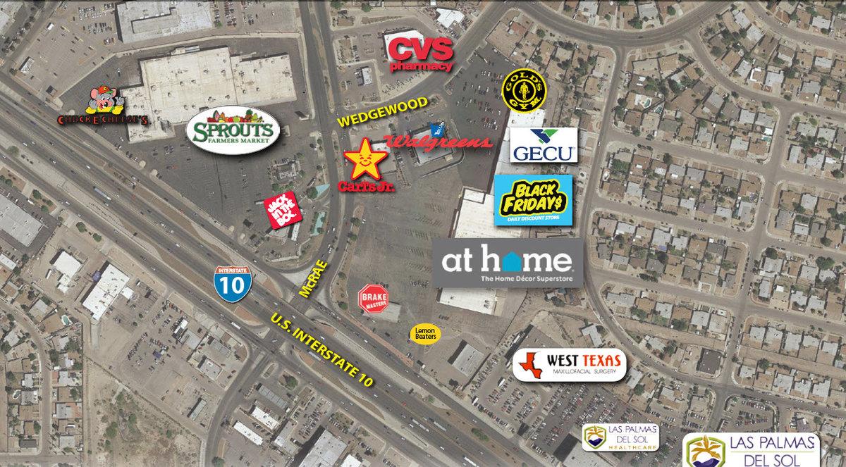 Eastridge Plaza El Paso Texas Retail Space