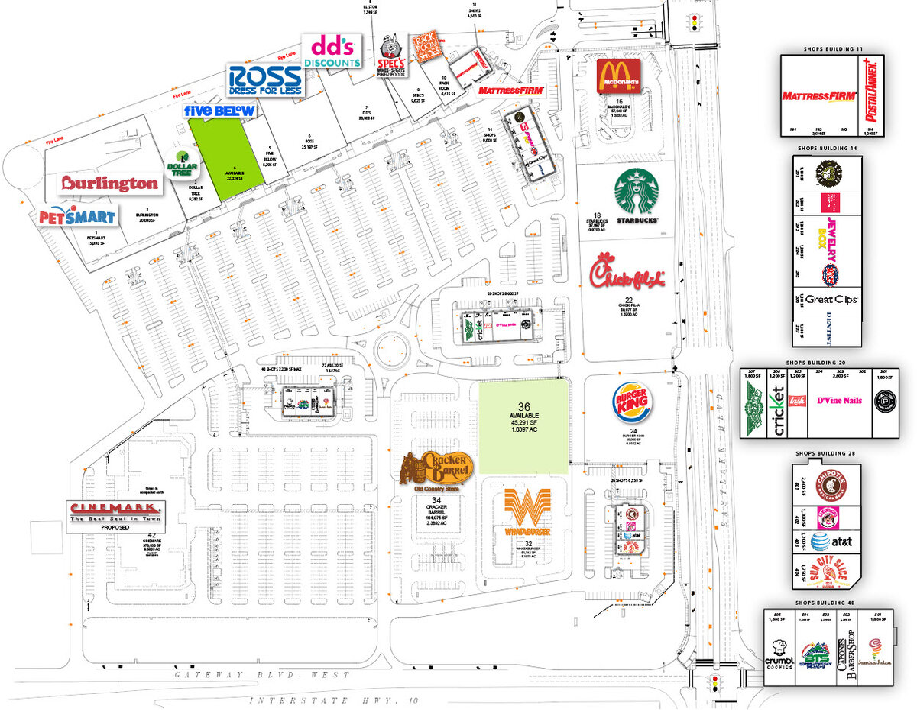 Eastlake Marketplace El Paso Texas Retail Space