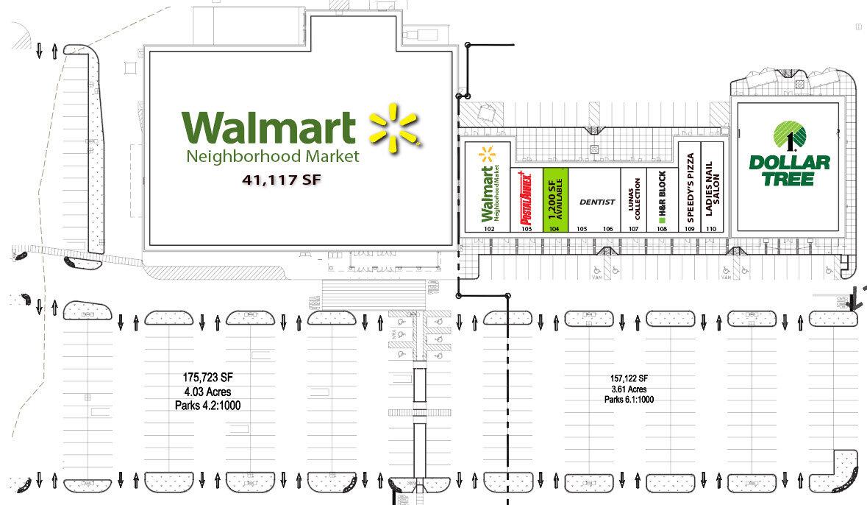 Las Tiendas de Zaragoza El Paso Texas Retail Space