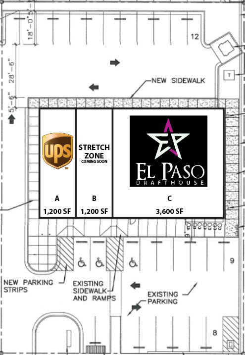 The Shops at Mesa Hills Site Plan