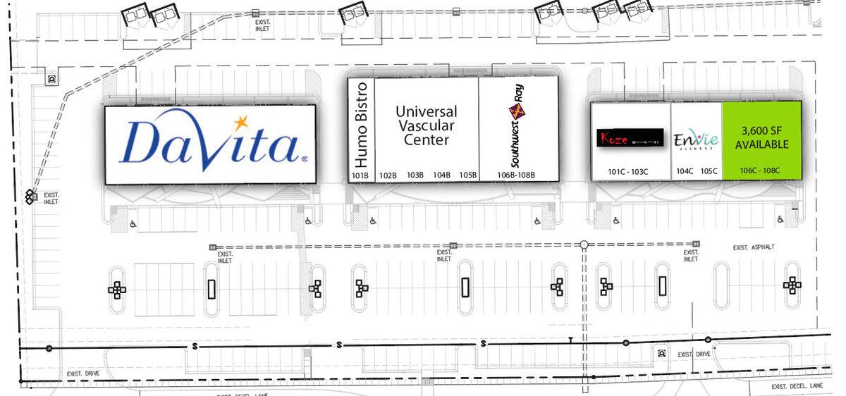 Shops on the Loop El Paso Texas Retail Space