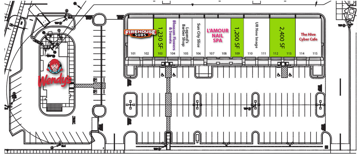 The Shops at Dieter Village Site Plan