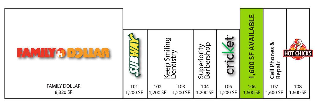 Tierra Este Plaza Site Plan