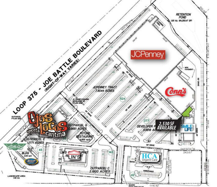 Pad F - El Mercado Site Plan