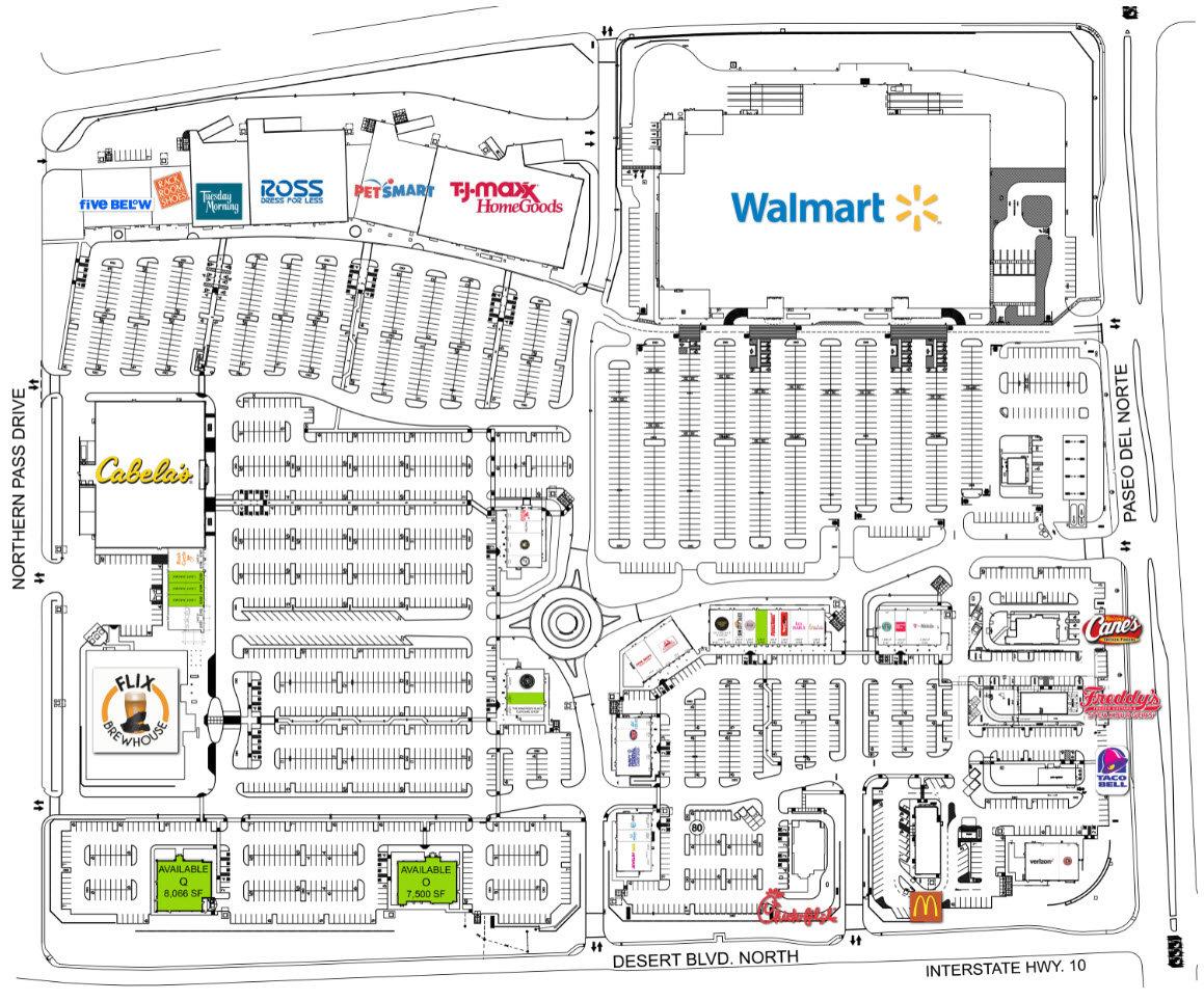 Cabela's - West Towne Marketplace  El Paso Texas Retail Space