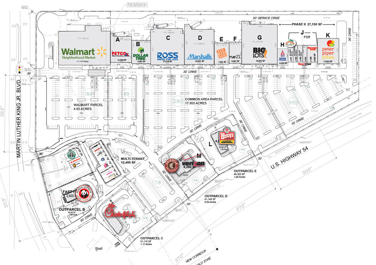 Chick-Fil-A - North Hills Crossing El Paso Texas Retail Space