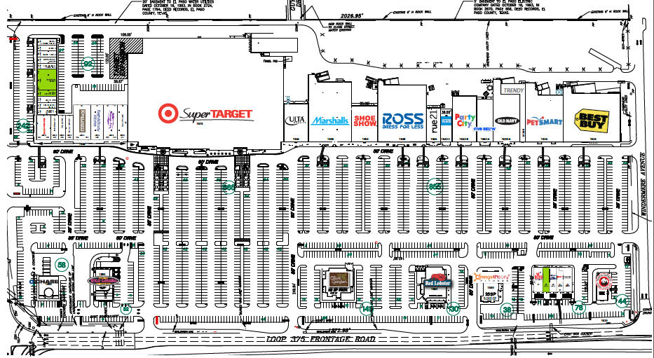 Taco Cabana - El Paseo Marketplace El Paso Texas Retail Space