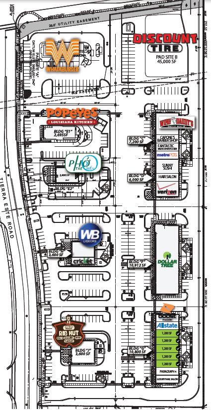 Whataburger - The Shops at Tierra Este El Paso Texas Retail Space