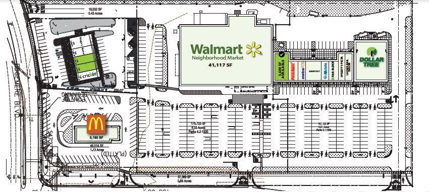 Wal-Mart - Edgemere & Zaragoza El Paso Texas Retail Space
