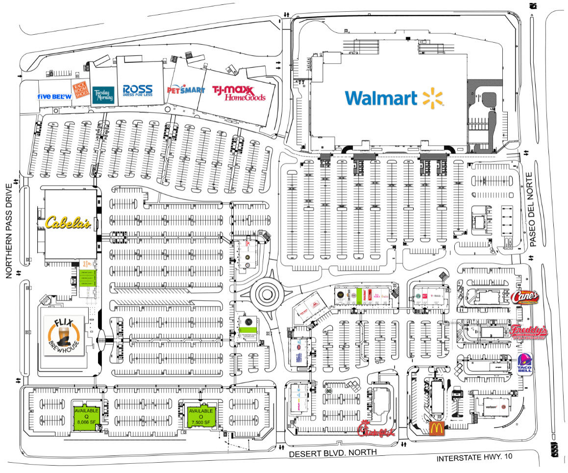 Freddy's - West Towne Marketplace Site Plan